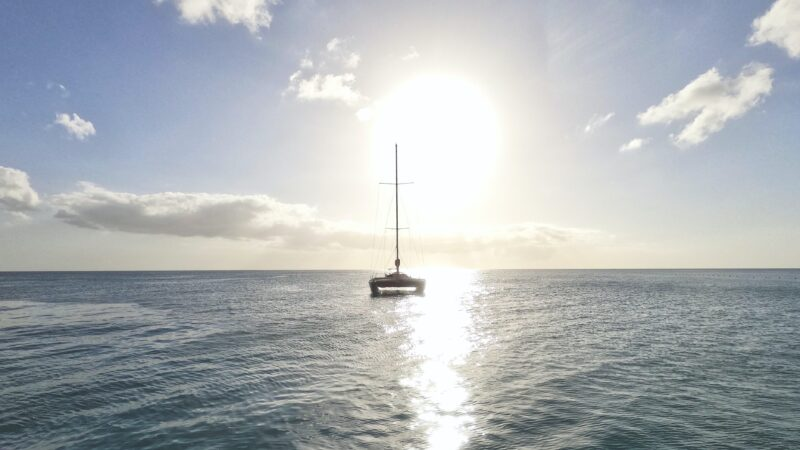 Ride A 40 Foot Catamaran On Our Lands End Deluxe Sunset Cruise From Los Cabos