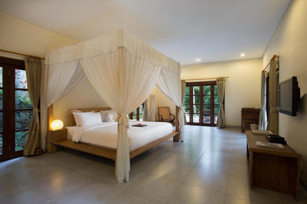 Airy rooms at Plataran Borobudur Resort And Spa Hotel