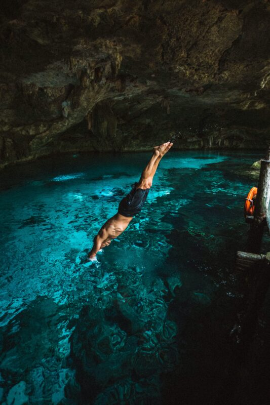 Swim In Cenotes On Our Cenote Biking Tour From Tulum