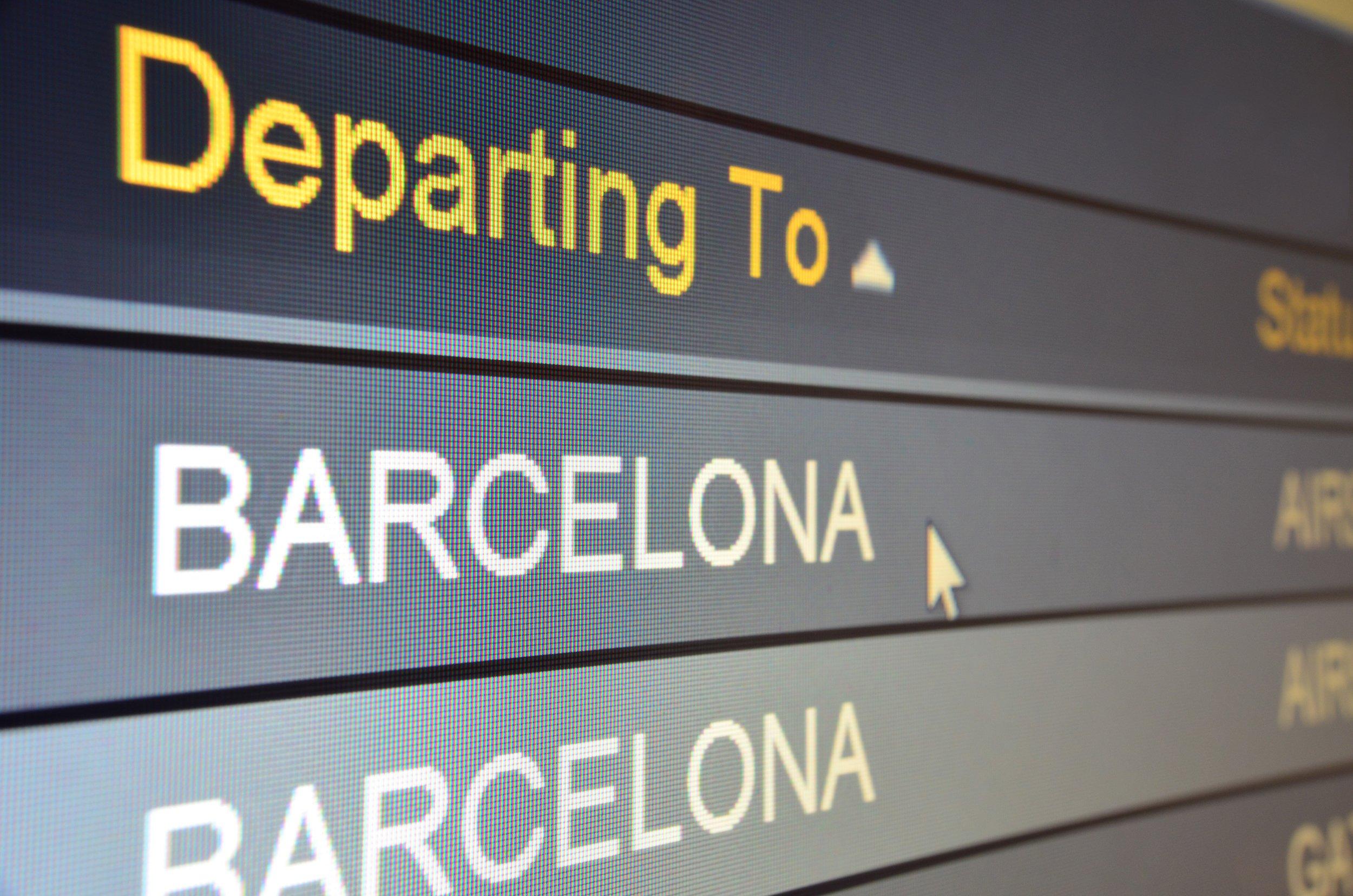 Facilities at Barcelona Airport