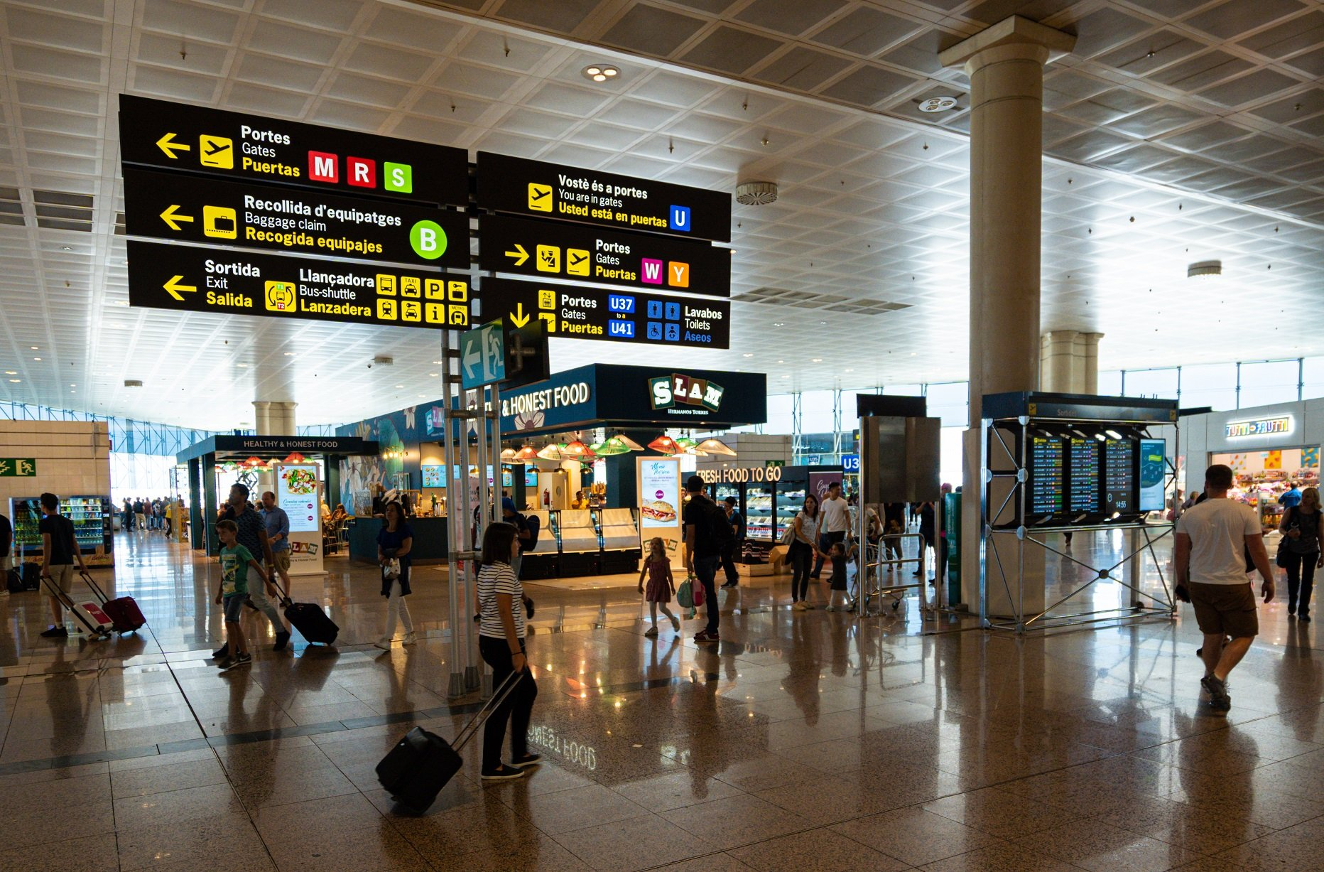 Getting to Barcelona Airport