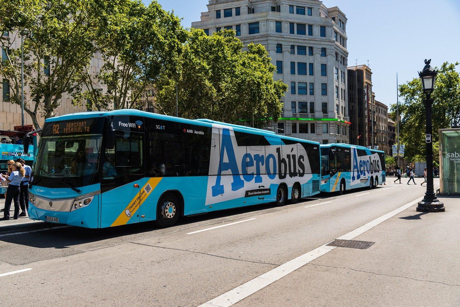 Aerobus to Barcelona Airport