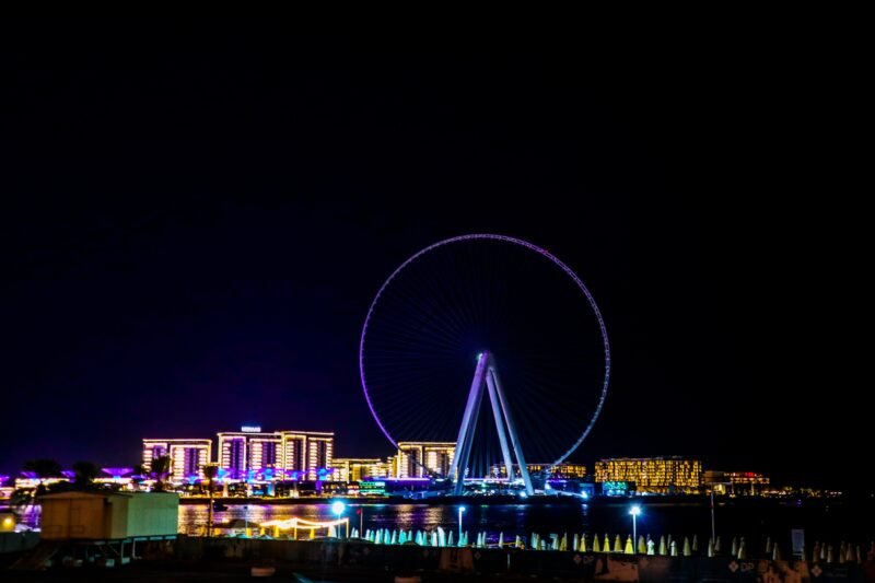 See Some Of Dubai's Sights On Our Marina Dhow Cruise Dinner From Dubai
