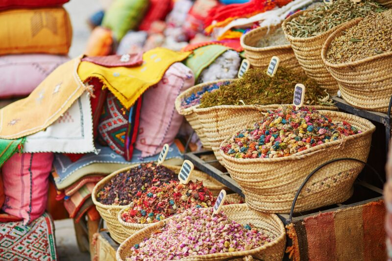 Moroccan Food Tour In Fez_herbs