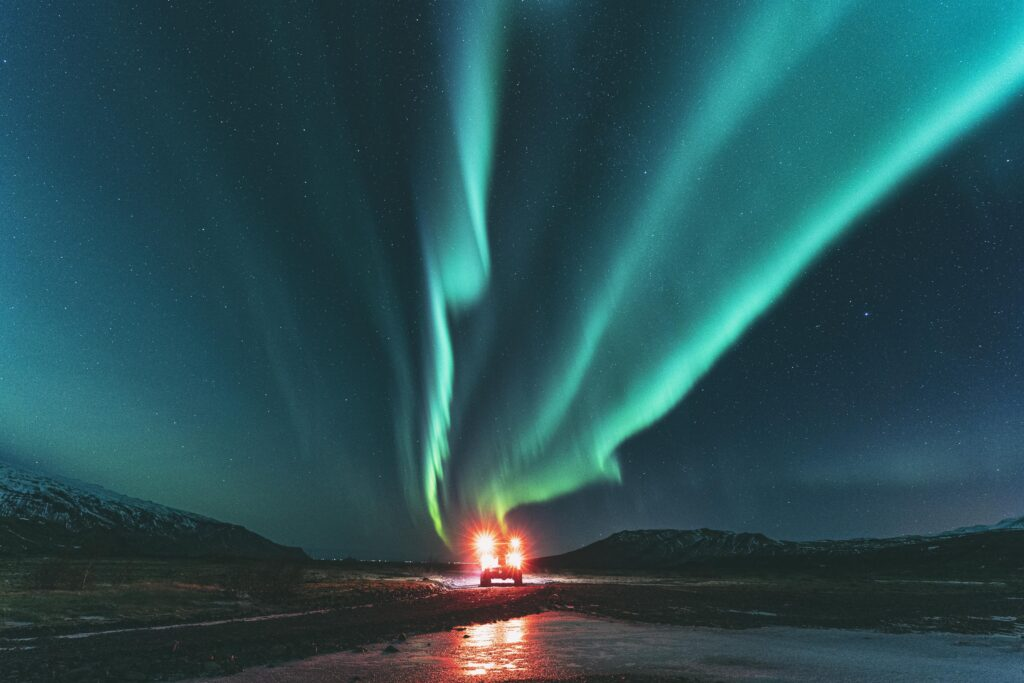 Hunt for the nothern lights on our 4 Day Iceland Express Tour Package