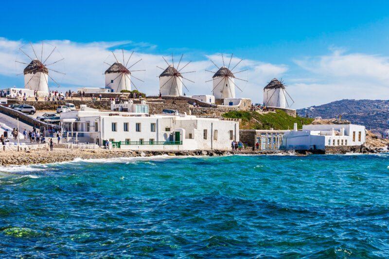 10 Day Athens, Santorini & Mykonos Package Tour