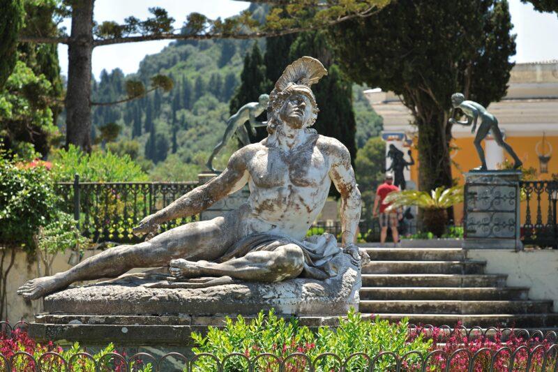Achilleion, Kanoni & Corfu Town Private Tour (4)