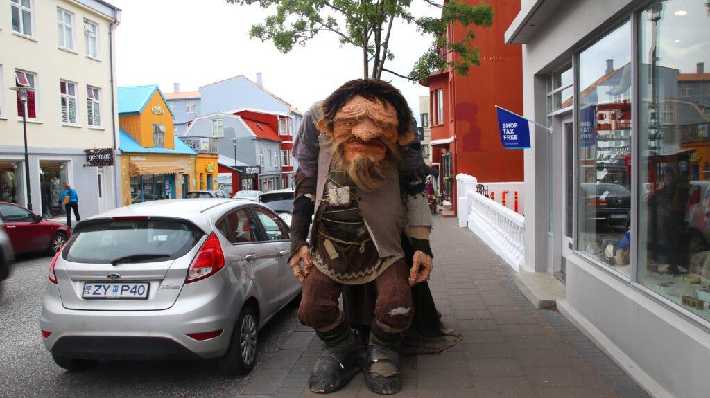 A troll in Reykjavik