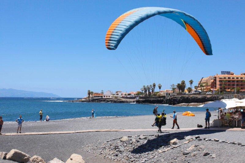 Performance Paragliding Flight In Tenerife_2