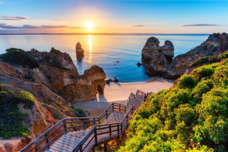 Camilo Beach -western Algarve Tour