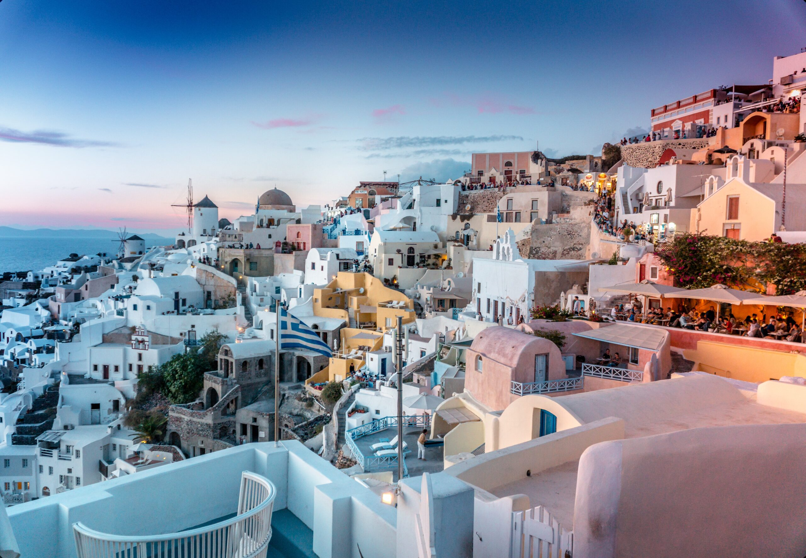 Visit Santorini On Our 10 Day Secrets Of Greek Food & Wine Tour Package