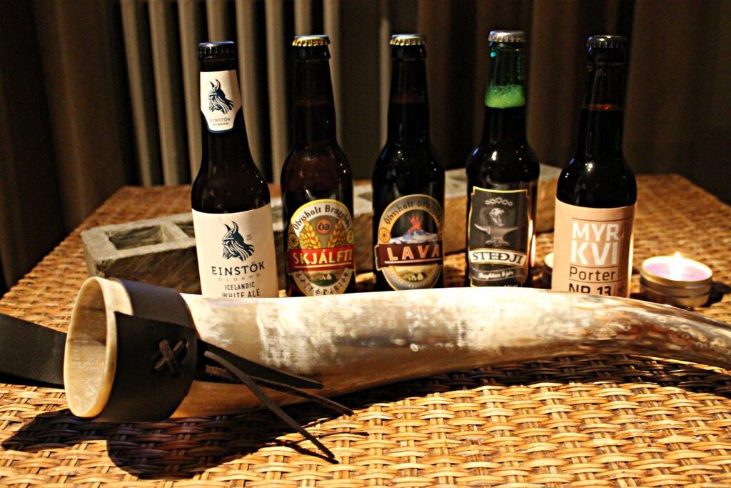 Join a beer tasting tour in Reykjavik
