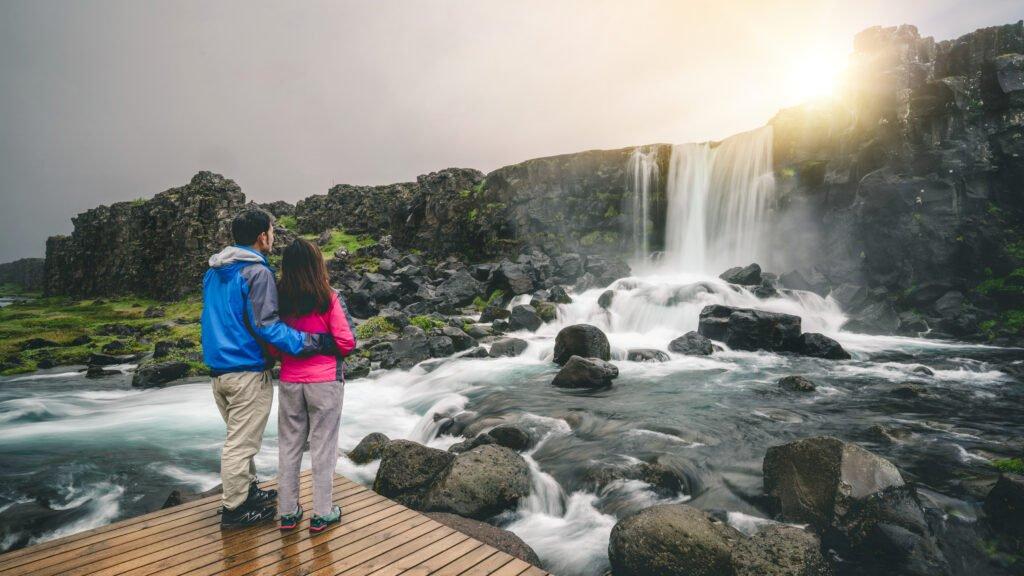 Beautiful Thingvellir national park