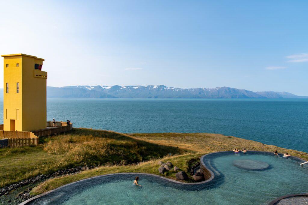 GeoSea Sea Baths in Húsavík, Iceland